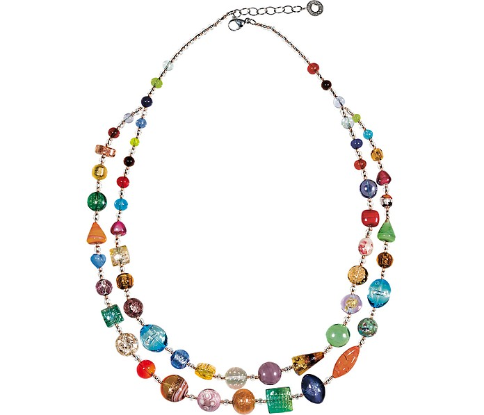 Long Bouquet Necklace - Antica Murrina