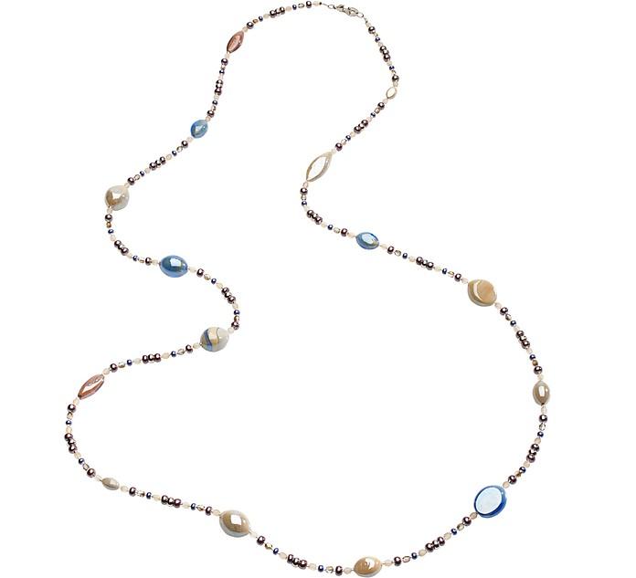 Long Crevan Necklace - Antica Murrina Veneziana