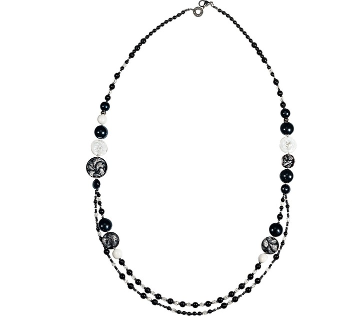 Long Damasco Necklace - Antica Murrina