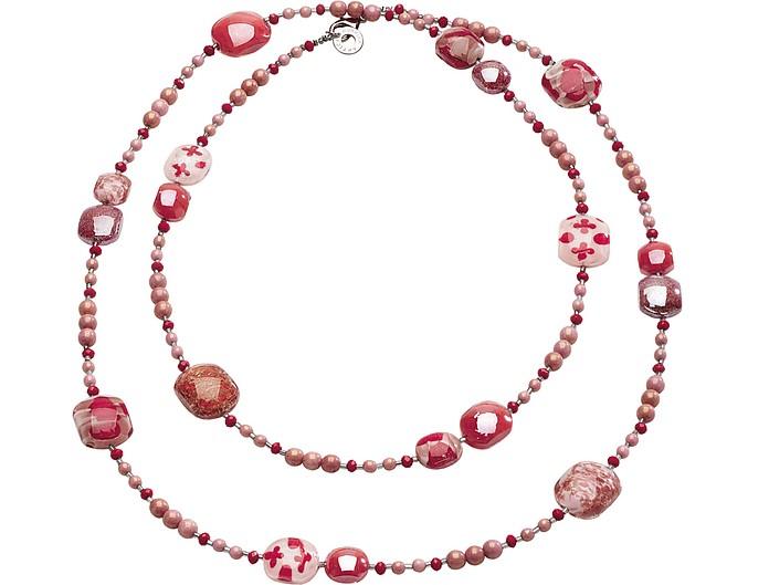 Long Domino Necklace - Antica Murrina Veneziana