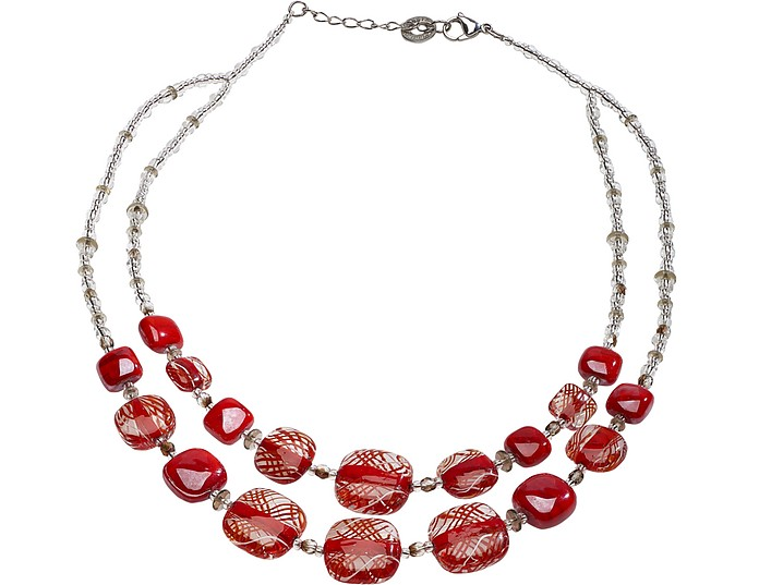 Graphic 1 Necklace - Antica Murrina