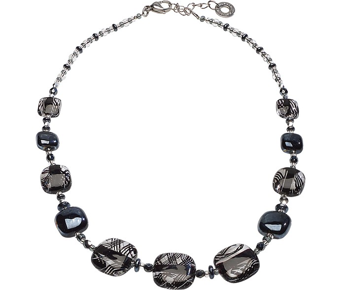 Graphic 2 Necklace - Antica Murrina