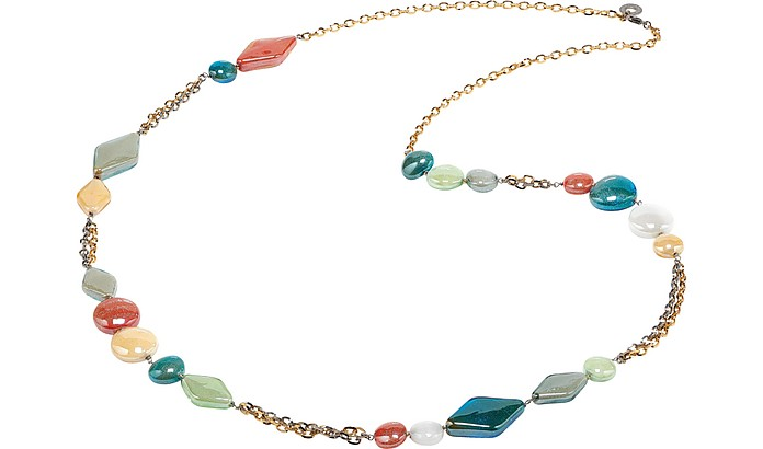 Avogaria Long Necklace - Antica Murrina