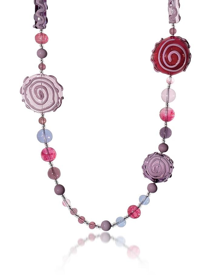 Mignon - Long Murano Glass Necklace - Antica Murrina