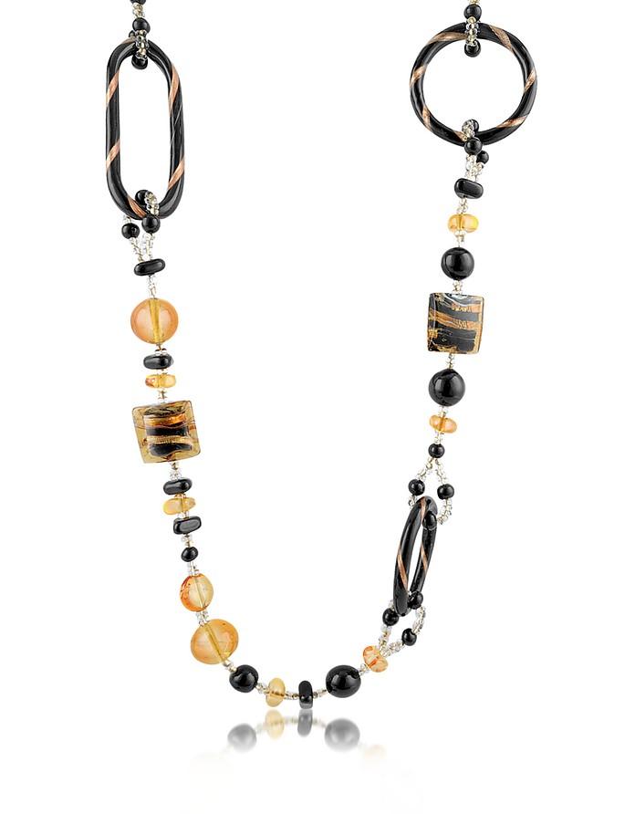 Bolero - Murano Glass Long Necklace - Antica Murrina