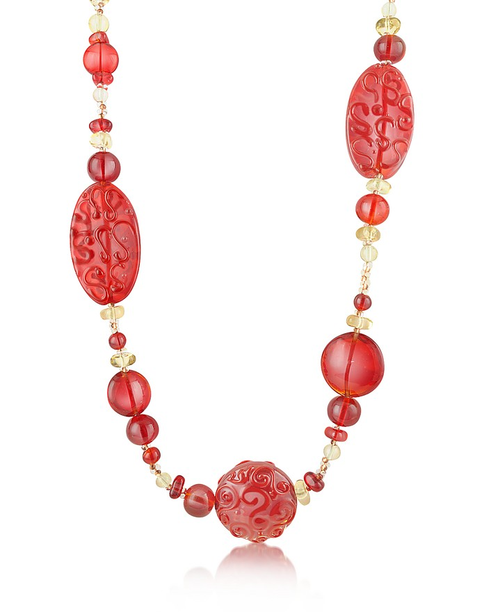 Caprice - Murano Glass Long Necklace - Antica Murrina