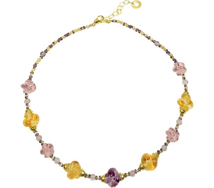 Venezia Heritage Murano Glass Beads Necklcace - Antica Murrina