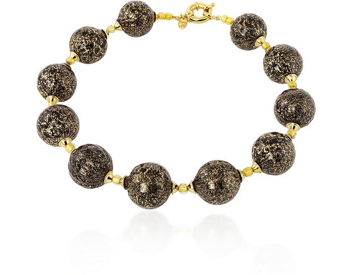 Dream - Murano Glass Ball Gold Plated Necklace - Antica Murrina