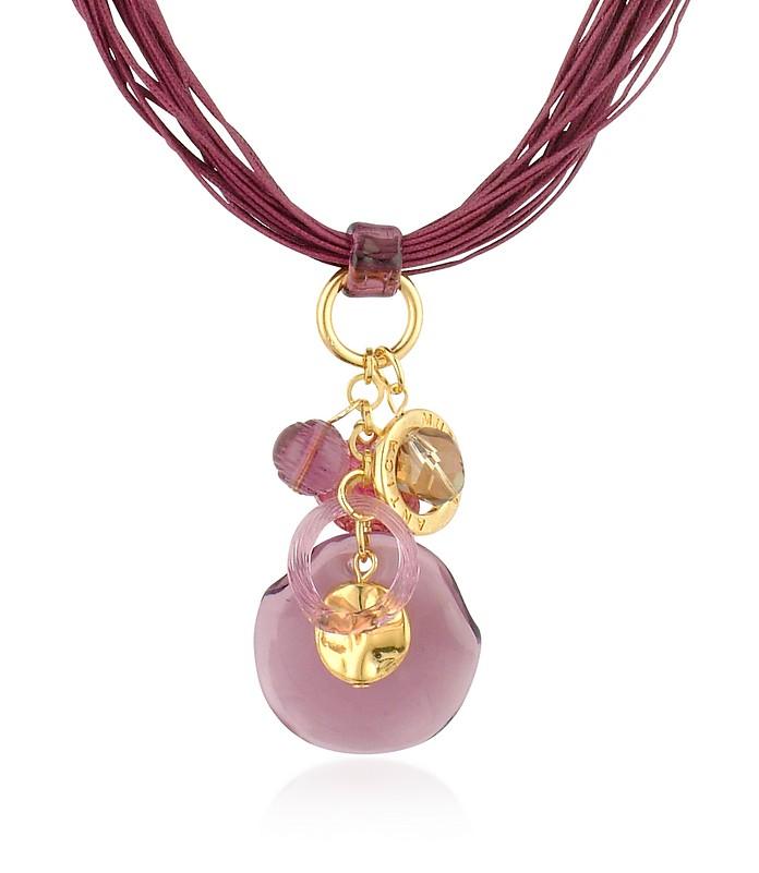Kali' - Halskette mit Anhängern aus Muranoglas - Antica Murrina Veneziana
