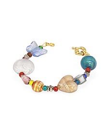 Fanny - buntes Armband mit Muranoglasteilen - Antica Murrina Veneziana
