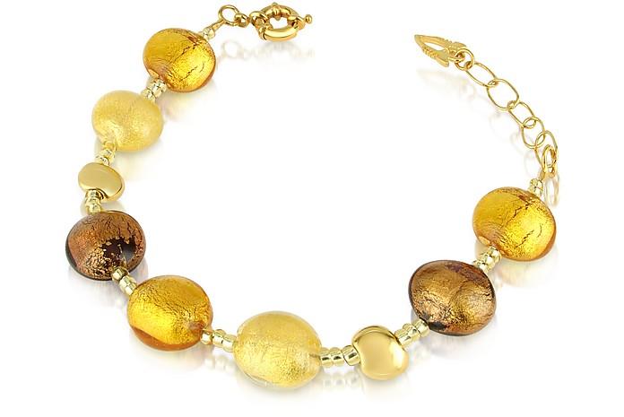 Frida - Bracelet avec perles en verre de Murano - Antica Murrina