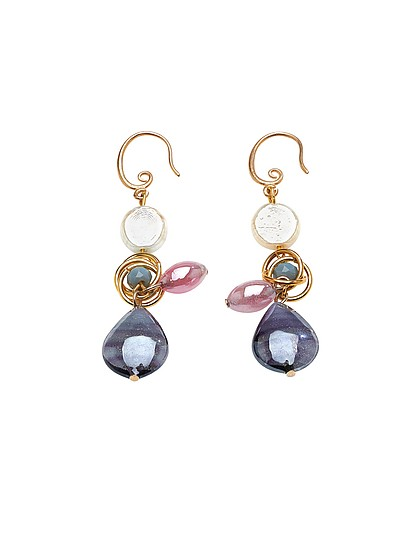 Grimani T Top Earrings - Antica Murrina