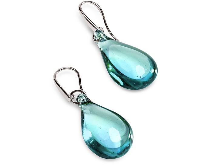 Lapilli Murano Glass Drop Earrings - Antica Murrina
