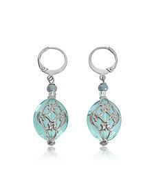 Florinda Light Blue Murano Glass Earrings - Antica Murrina