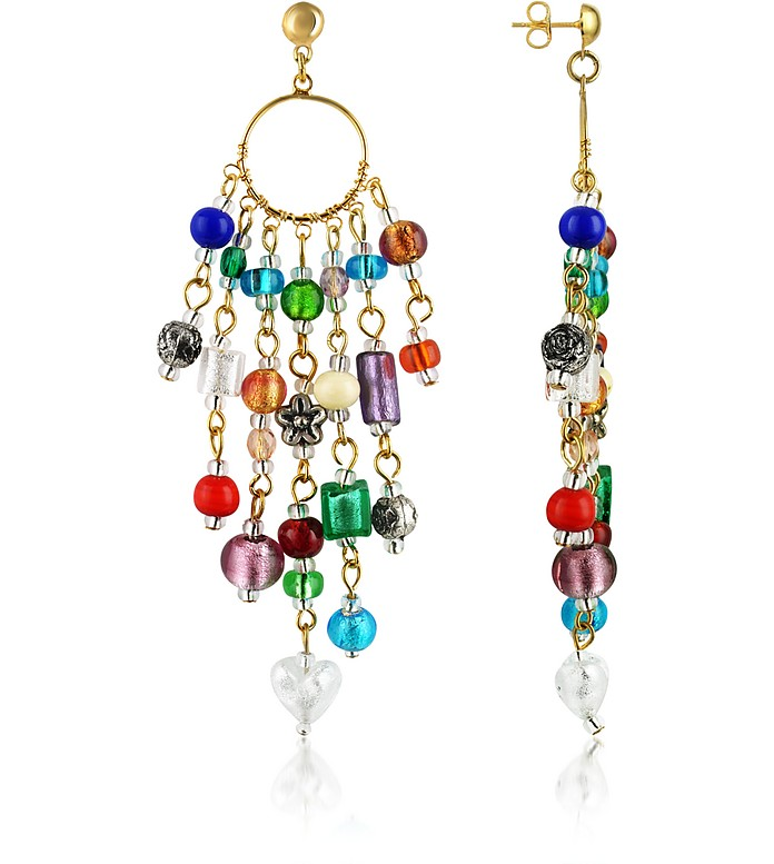 Brio - Murano玻璃珠链耳坠 - Antica Murrina Veneziana 威尼斯玻璃