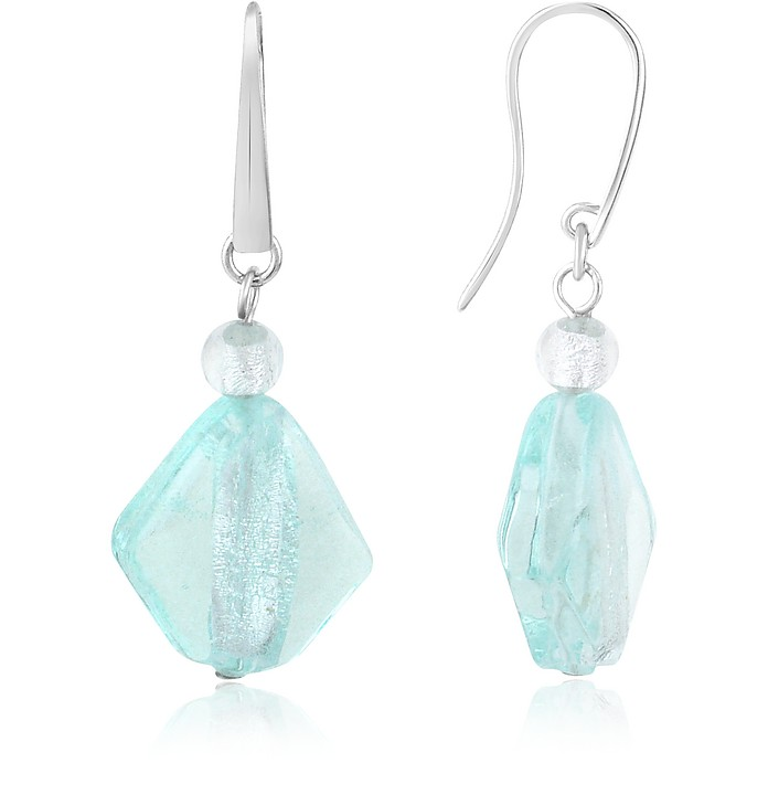 Fusion - Murano Glass Drop Earrings - Antica Murrina