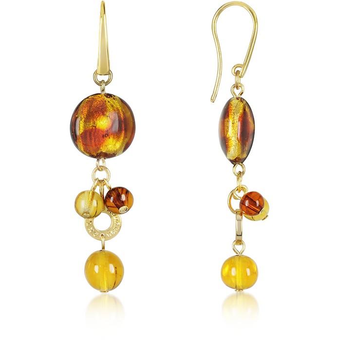 Celebrity - Murano Glass Drop Earrings - Antica Murrina