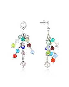 Prestige - Murano Glass Pearl Drop Earrings - Antica Murrina