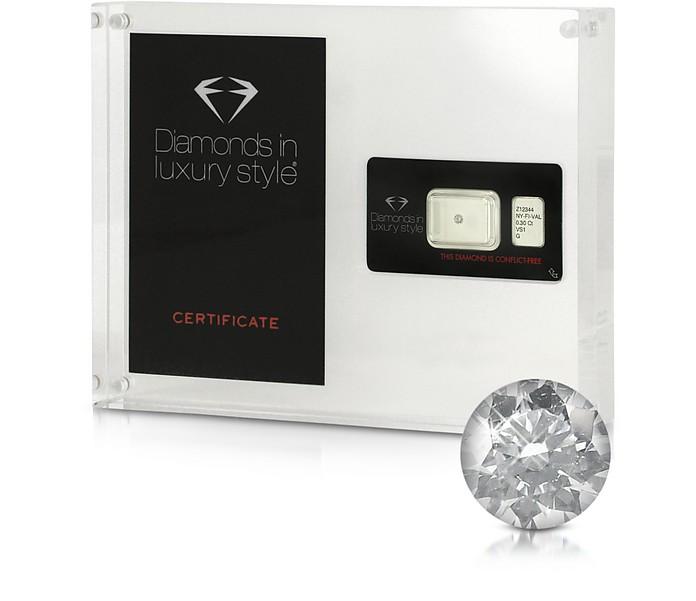 0.30 Carat Round Brilliant Diamond - Amin Luxury
