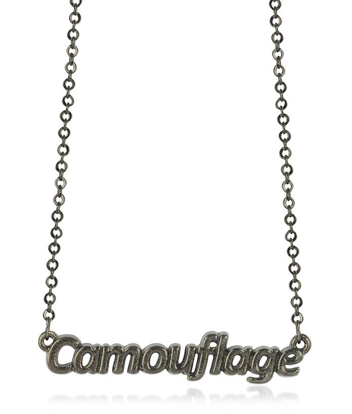 Collar Khaki Camuflaje - Patrizia Pepe
