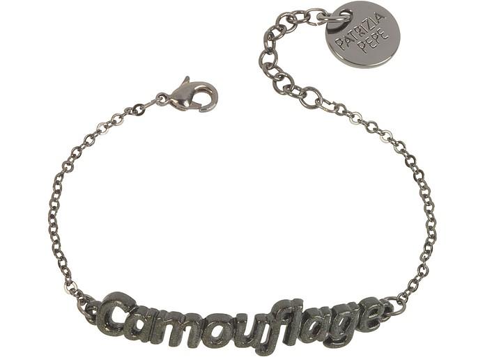 Khaki 'Camouflage' Bracelet - Patrizia Pepe