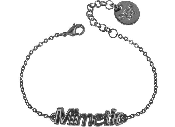 "Bracelet en métal noir ""Mimetic""  - Patrizia Pepe"