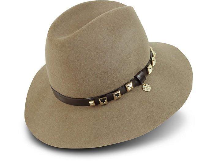 Patrizia Pepe Light Storm Gray Wool Hat Head Size  7  68458b4d792