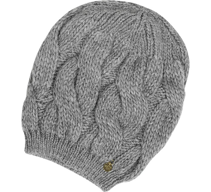 Knitted Wool Hat - Patrizia Pepe