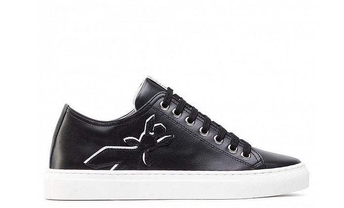 Black K103 Women's Lace up Sneakers - Patrizia Pepe / パトリツィア ペペ