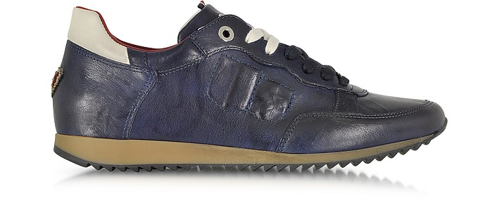 uk availability 3fb21 5f0c3 Magnifico Sneaker in Pelle Blu