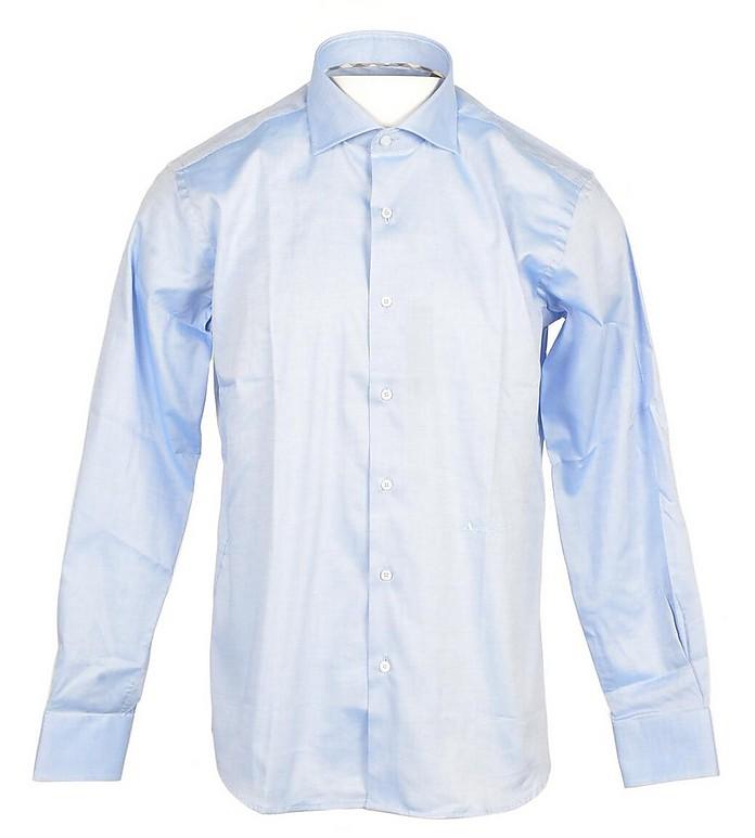 Aquascutum Men's Sky Blue Shirt