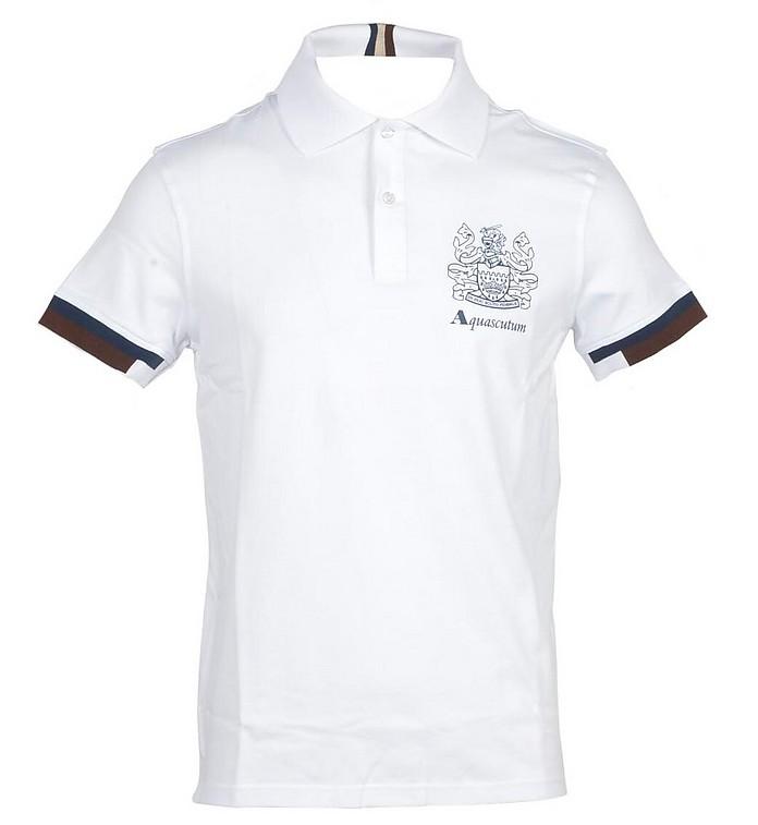 Aquascutum Shirts Men's White Shirt