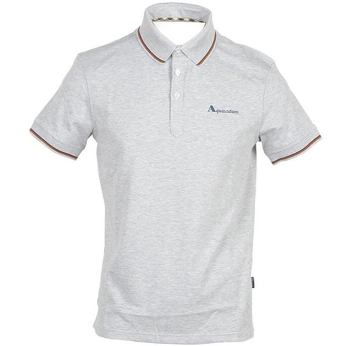 Aquascutum Shirts Men's Light Gray Shirt