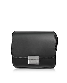 Smooth Leather Shoulder Bag - Emporio Armani