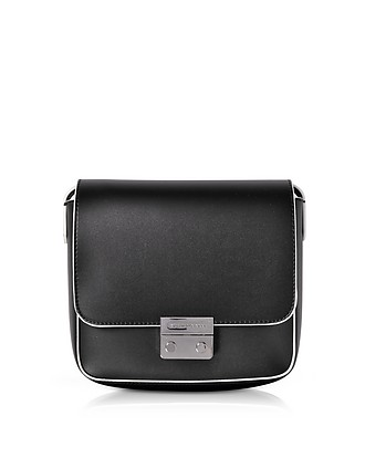 79408a1c4609 Mini Smooth Eco Leather Shoulder Bag - Emporio Armani