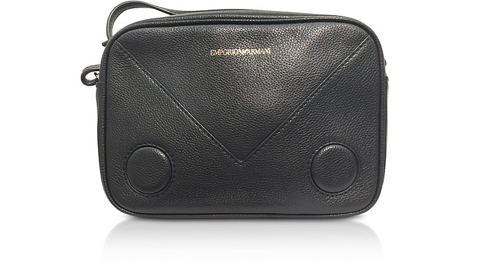 Black Mini Shoulder Bag - Emporio Armani