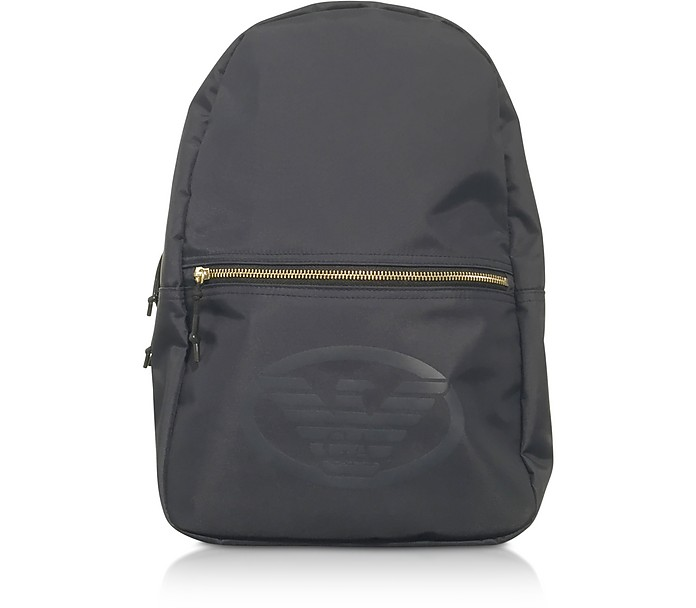 Technical Fabric Backpack W/Logo - Emporio Armani