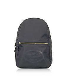 Black and Blue Nylon Backpack - Emporio Armani
