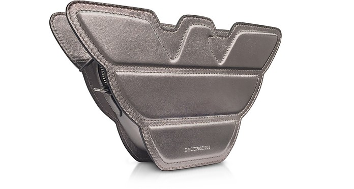 ea66e282362b Laminated Leather Eagle Shoulder Bag - Emporio Armani.  185.00  370.00  Actual transaction amount