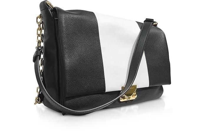 Facebook · Twitter · Pinterest · Share on Tumblr. Color Block Leather  Shoulder bag - Emporio Armani db3f023312307