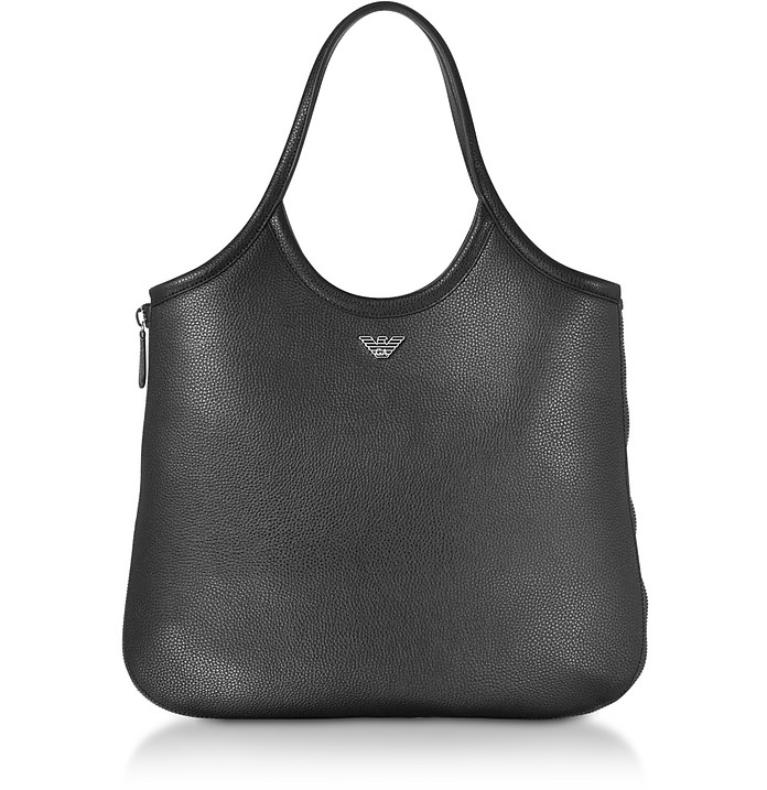 Black Shoulder Bag - Emporio Armani