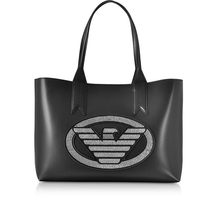 Signature Medium Tote Bag - Emporio Armani