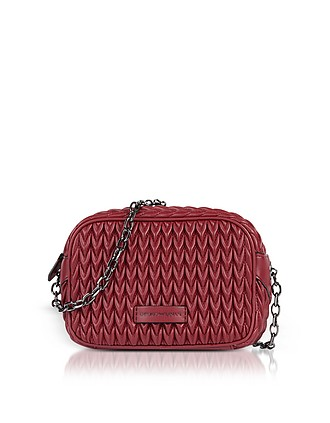 af3ea350778 Quilted Eco-Leather Shoulder Bag - Emporio Armani