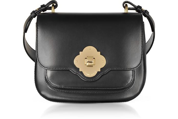 Black Flap Top Shoulder Bag - Emporio Armani / エンポリオ アルマーニ