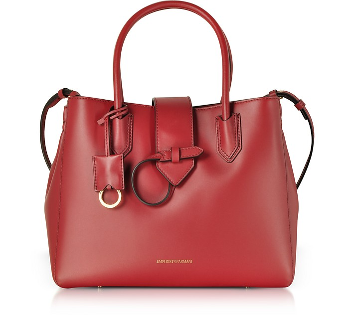 Smooth leather Tote Bag - Emporio Armani