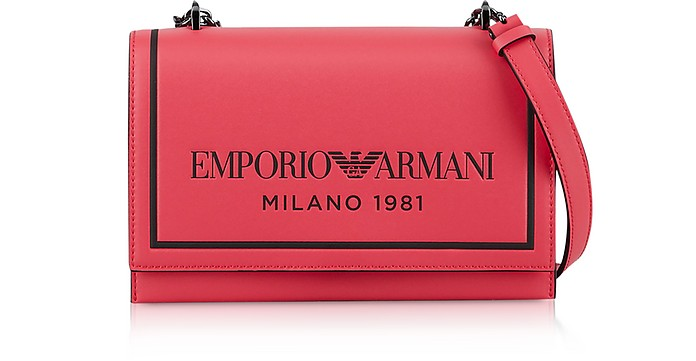 Two-tone Shoulder Bag - Emporio Armani