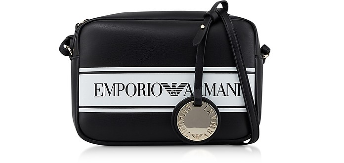 Two-tone Small Camera Bag - Emporio Armani