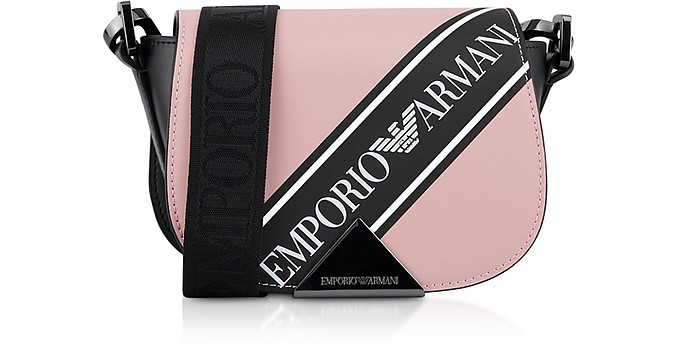 Three-colored Shoulder Bag - Emporio Armani