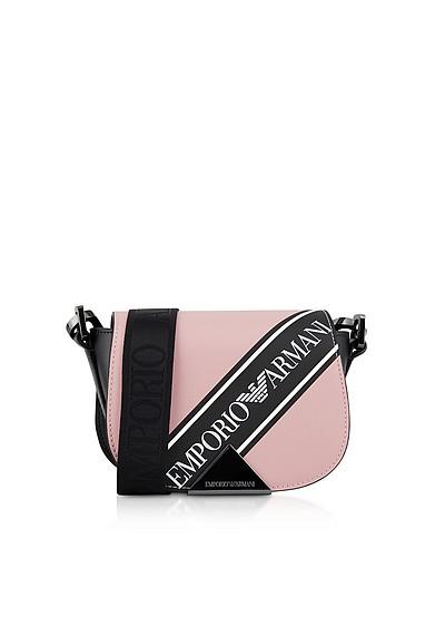 Three-colored Shoulder Bag - Emporio Armani
