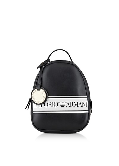 Black And White Backpack - Emporio Armani